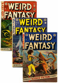 Golden Age (1938-1955):Science Fiction, Weird Fantasy Group (EC, 1951-53).... (Total: 6 Comic Books)