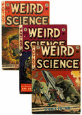 Golden Age (1938-1955):Horror, Weird Science #15, 19, and 21 Group (EC, 1952-53) Condition:Average VG+.... (Total: 3 Comic Books)