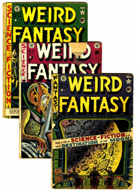 Weird Fantasy Group (EC, 1950s) Condition: Average GD-.... (Total: 13 Comic Books)