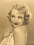"Movie Posters:Miscellaneous, Carole Lombard by Edwin Bower Hesser (Fox, 1920s). Portrait Photo(10"" X 13.25"").. ..."