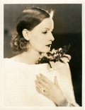 """Movie Posters:Drama, Greta Garbo by Ruth Harriet Louise (MGM, Late 1920s). PortraitPhoto (10"""" X 13"""").. ..."""