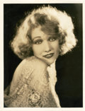 "Movie Posters:Adventure, Edwina Booth by Ruth Harriet Louise (MGM, 1930). Portrait Photo(10"" X 13"").. ..."