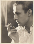 Movie/TV Memorabilia:Autographs and Signed Items, Rudolph Valentino Autographed Photo....