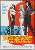 "Movie Posters:Adult, Faster, Pussycat! Kill! Kill! (Eve Productions, 1965). German A1 (23"" X 33""). Adult.. ..."