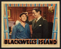 "Movie Posters:Crime, Blackwell's Island (Warner Brothers, 1939). Lobby Card (11"" X 14"").Crime.. ..."