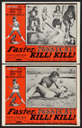 "Movie Posters:Adult, Faster, Pussycat! Kill! Kill! (Eve Productions, 1965). Lobby Cards (2) (11"" X 14""). Adult.. ... (Total: 2 Items)"