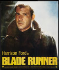 "Movie Posters:Science Fiction, Blade Runner (Warner Brothers, 1982). Special Poster (17"" X 20"").Science Fiction.. ..."