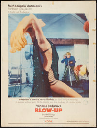 """Blow-Up (MGM, 1967). Poster (30"""" X 40""""). Thriller"""