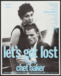"""Movie Posters:Documentary, Let's Get Lost (Zeitgeist, 1988). Poster (17.25"""" X 21.5""""). Documentary.. ..."""
