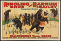 "Movie Posters:Miscellaneous, Circus Poster (Ringling Bros. and Barnum and Bailey, 1920s). Poster(27"" X 41""). Miscellaneous.. ..."