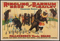 """Circus Poster (Ringling Bros. and Barnum and Bailey, 1920s). Poster (27"""" X 41""""). Miscellaneous"""