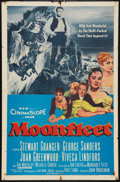 "Movie Posters:Adventure, Moonfleet (MGM, 1955). One Sheet (27"" X 41""). Adventure.. ..."