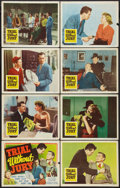 "Movie Posters:Mystery, Trial Without Jury (Republic, 1950). Lobby Card Set of 8 (11"" X14""). Mystery.. ... (Total: 8 Items)"