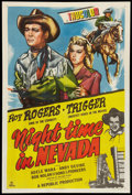 """Movie Posters:Western, Night Time in Nevada (Republic, 1948). One Sheet (27"""" X 41""""). Western.. ..."""