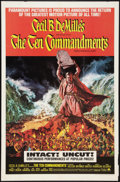 """Movie Posters:Historical Drama, The Ten Commandments (Paramount, R-1966). One Sheet (27"""" X 41"""").Historical Drama.. ..."""