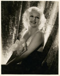 "Movie Posters:Miscellaneous, Jean Harlow by George Hurrell (MGM, 1930s). Portrait Photo (11"" X14"").. ..."