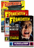 Magazines:Horror, Castle of Frankenstein Group (Gothic Castle Printing, 1966-73) .... (Total: 8 Comic Books)