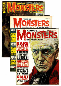 Famous Monsters of Filmland Silver Age Group (Warren, 1960-66).... (Total: 7 Comic Books)