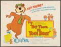 "Movie Posters:Animated, Hey There, It's Yogi Bear (Columbia, 1964). Half Sheet (22"" X 28""). Animated.. ..."
