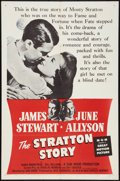 "Movie Posters:Sports, The Stratton Story (MGM, R-1956). One Sheet (27"" X 41""). Sports.. ..."