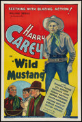 "Movie Posters:Western, Wild Mustang (Ajax, 1935). One Sheet (27"" X 41""). Western.. ..."