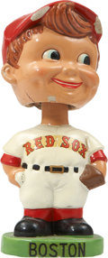 """Baseball Collectibles:Others, 1963-66 Boston Red Sox """"Green Base"""" Nodder...."""