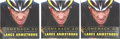 "Miscellaneous Collectibles:General, Lance Armstrong Signed ""Comeback 2.0"" Hardcover Books Lot of 3...."