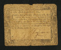 Colonial Notes:Maryland, Maryland August 14, 1776 $1 Fine.. ...