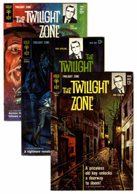 Twilight Zone File Copy Group (Gold Key, 1963-82) Condition: Average VF+.... (Total: 68 Comic Books)
