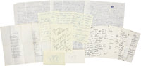 Lucille Ball Notes and Letters