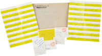 Lucille Ball and Gary Morton Notes and Letters