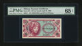 Military Payment Certificates:Series 651, Series 651 10¢ PMG Gem Uncirculated 65 EPQ.. ...