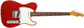 Musical Instruments:Electric Guitars, 1966 Fender Telecaster Candy Apple Red Guitar, #158932....
