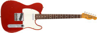 1966 Fender Telecaster Candy Apple Red Guitar, #158932