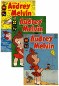 Silver Age (1956-1969):Cartoon Character, Little Audrey and Melvin File Copy Group (Harvey, 1962-73) Condition: Average VF/NM.... (Total: 53 Comic Books)