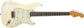 Musical Instruments:Electric Guitars, 1964 Fender Stratocaster Olympic White Guitar, #L46579.... (Total: 2 )
