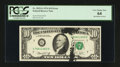Error Notes:Ink Smears, Fr. 2022-G $10 1974 Federal Reserve Note. PCGS Very Choice New 64.....