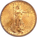 Saint-Gaudens Double Eagles, 1908-S $20 MS62 PCGS. CAC....