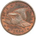 Patterns, 1855 P1C Flying Eagle Cent, Judd-168 Original, Pollock-193, R.4,PR63 Red and Brown PCGS. CAC....