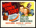 """Movie Posters:Drama, Home Town Story (MGM, 1951). Title Lobby Card (11"""" X 14""""). Drama.. ..."""
