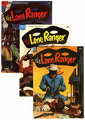 Golden Age (1938-1955):Western, Lone Ranger Group (Dell, 1954-56) Condition: Average VF.... (Total:18 Comic Books)
