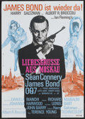 """Movie Posters:James Bond, From Russia with Love (United Artists, R-1970s). German A1 (23.5"""" X 33""""). James Bond.. ..."""