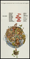 """Movie Posters:Comedy, It's a Mad, Mad, Mad, Mad World (United Artists, 1964). Three Sheet(41"""" X 81""""). Comedy.. ..."""