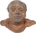 Movie/TV Memorabilia:Props, Tom and Bari Burman Prop Male Head from Bonfire of the Vanities....