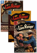 Silver Age (1956-1969):Western, Lone Ranger Group (Dell, 1957-61) Condition: Average VF.... (Total:15 Comic Books)