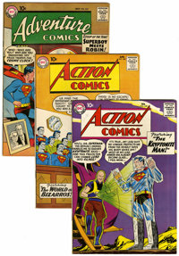 Action/Adventure Comics Group (DC, 1958-63) Condition: Average FN+.... (Total: 12 Comic Books)