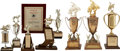 Movie/TV Memorabilia:Awards, Glenn Ford's Assorted Rodeo Trophies.... (Total: 9 )