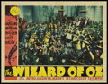 "Movie Posters:Fantasy, The Wizard of Oz (MGM, 1939). Lobby Card (11"" X 14""). Fantasy.. ..."