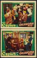 "Movie Posters:Western, The Oklahoma Kid (Warner Brothers, 1939). Lobby Cards (2) (11"" X14""). Western.. ... (Total: 2 Items)"