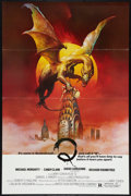 "Movie Posters:Horror, Q (United Film Distribution, 1982). One Sheet (27"" X 41"") Flat Folded. Horror.. ..."